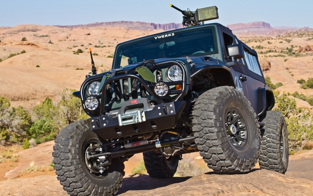 Remote Recon: Armored Jeep That Debuted At Moab Gets Trans ...