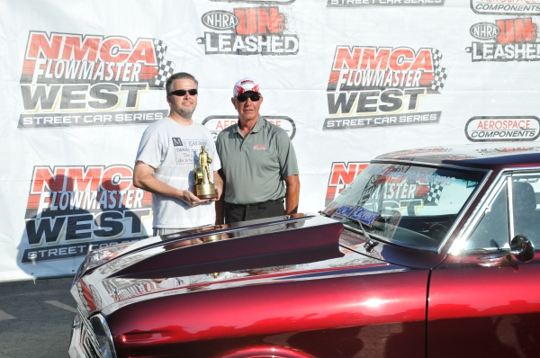 Mike Nordahl Winner's Circle NMCA West Pomona 2012