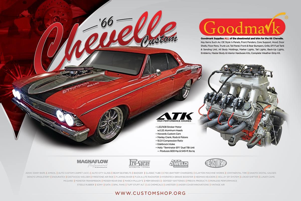 Sema 2013 Preview The Custom Shop S Stroker Chevelle