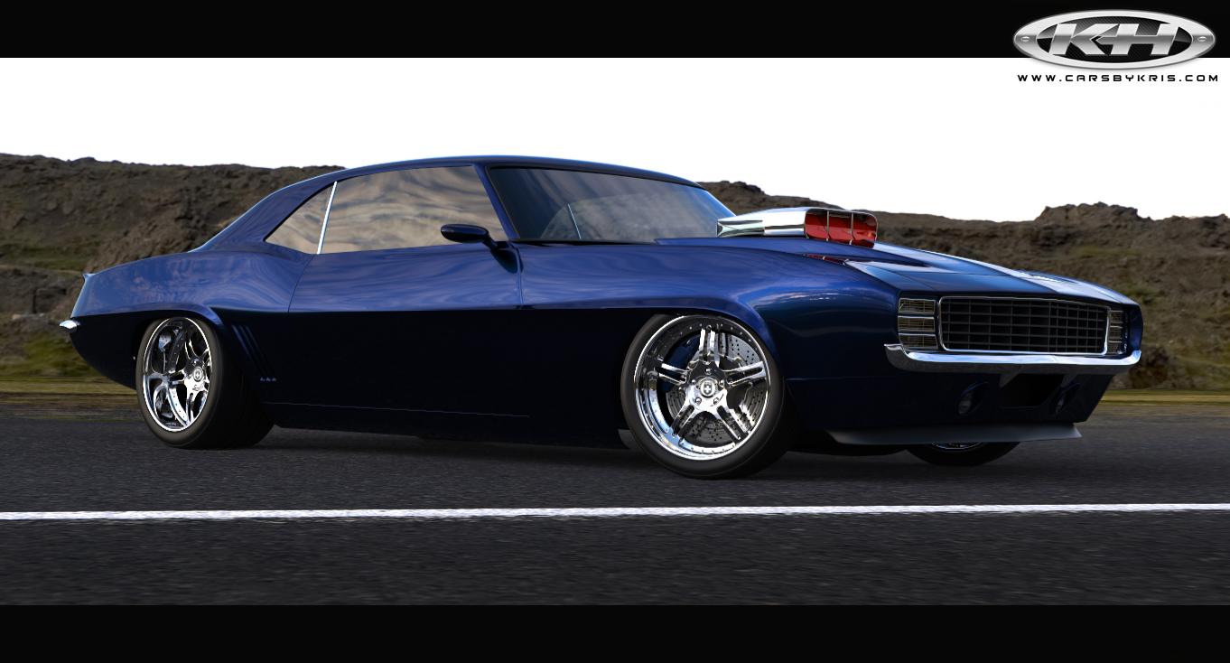 SEMA 2013 Preview: CW Restoration Shop's 1969 Camaro   hedmanperformance