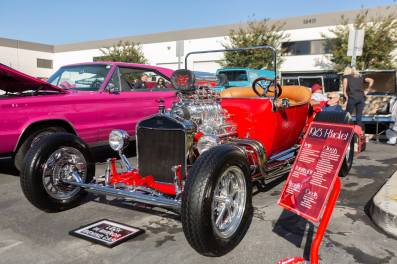Lee Shaka's awesome 1923 T-bucket roadster!
