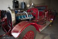 The City of Huntington Beach's first fire Truck, a 1923 Seagrave. This 1923 Seagrave fire engine was purchased for $14,500. It had a 750 gallon-per-minute capacity and carried 1,600 feet of two and one-half inch hose. It also carried a 20-gallon chemical tank with 100 feet of one-inch hose.