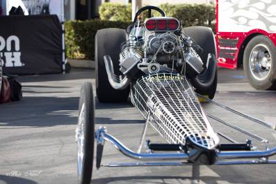 Jerry Bivens' Check Mate Top Fuel Dragster.